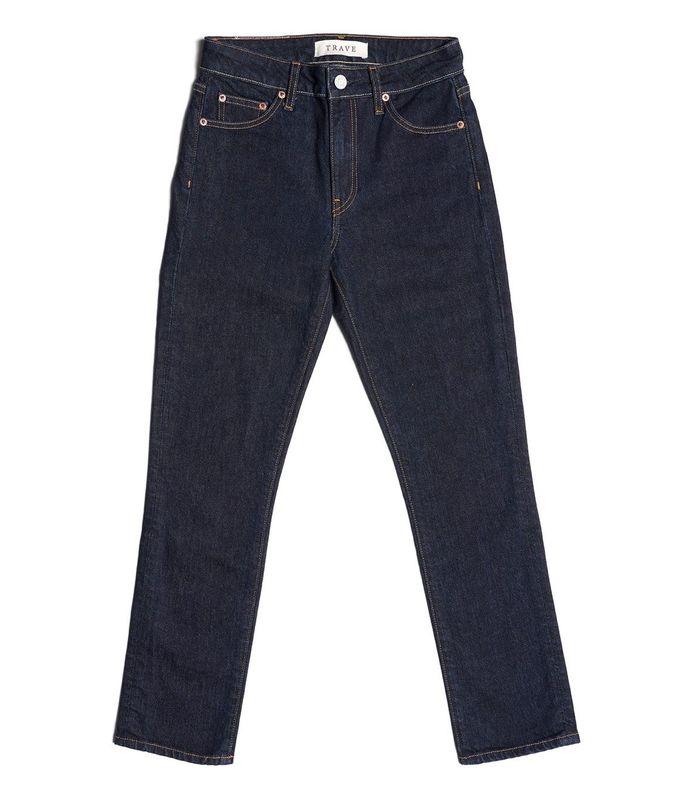 irina straight leg cropped jeans