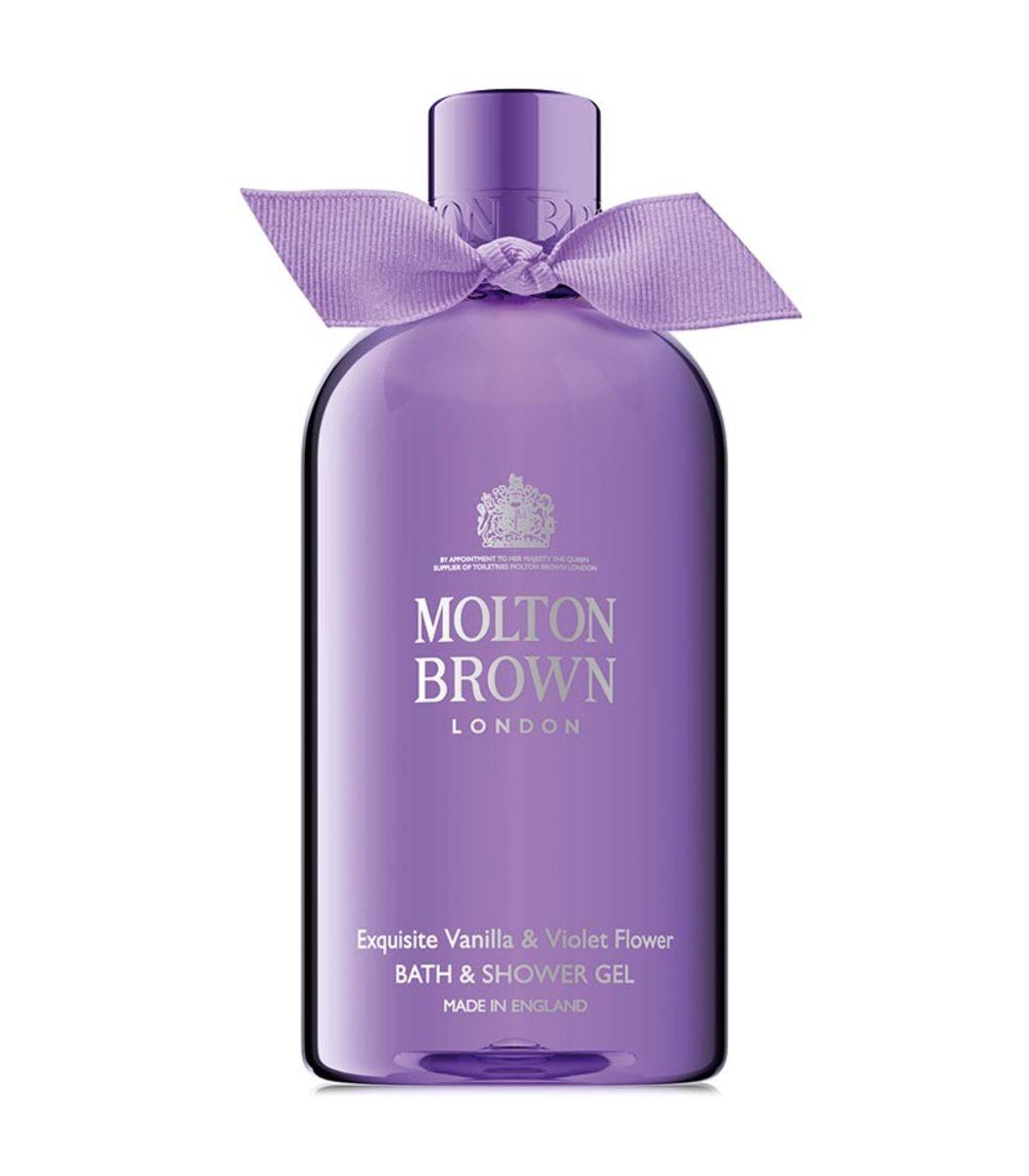 MOLTON BROWN Vanilla & Violet Leaf Body Wash