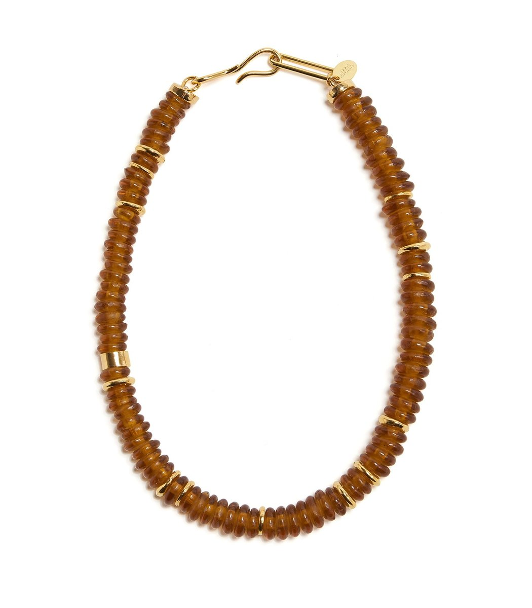 Lizzie Fortunato Laguna Necklace in Honey
