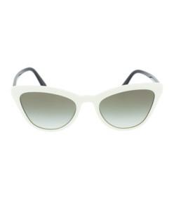 white catwalk sunglasses