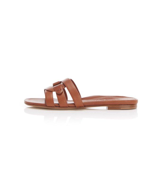 jenny sandal in camel