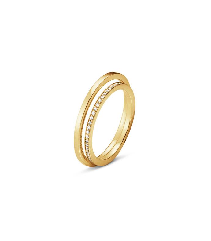 halo single pavé ring