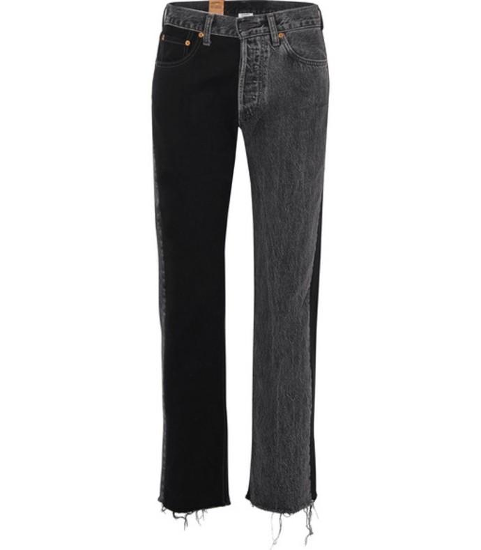 x levi two tone skinny jeans