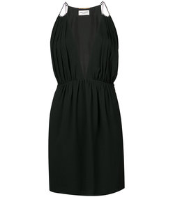 black classic fitted dress