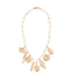 gold actua necklace
