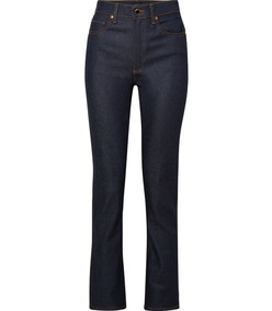 victoria high-rise straight-leg jeans