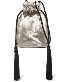 tula velvet shoulder bag