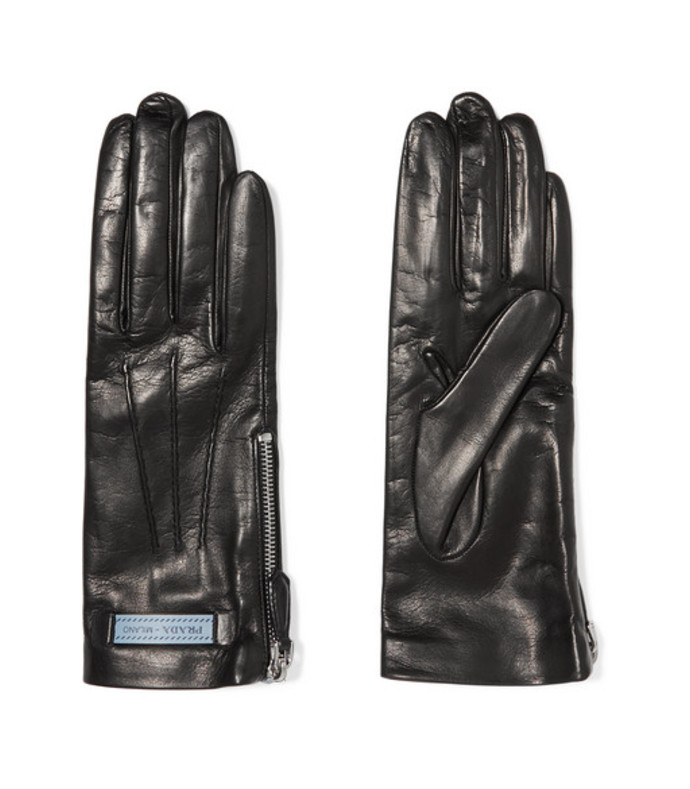 leather gloves