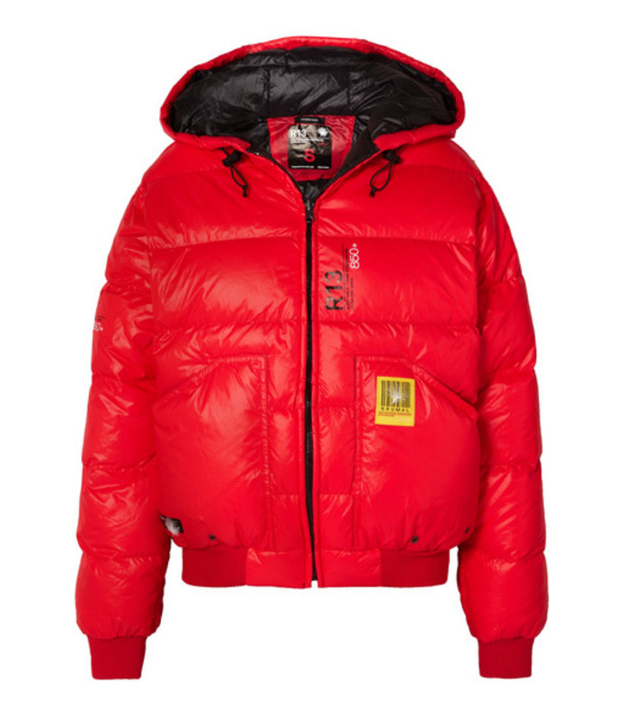 r13 reversible quilted shell down jacket