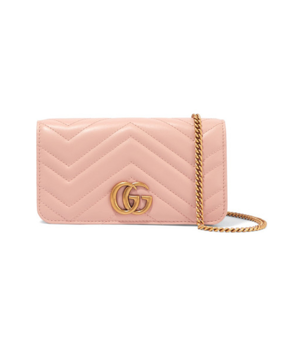 56249e5584f0 Gucci GG Marmont Mini Quilted Leather Shoulder Bag - ShopBAZAAR