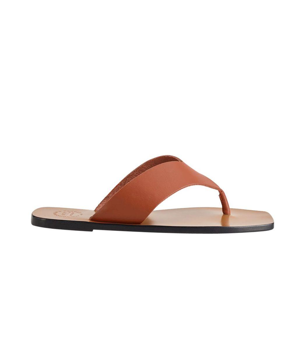 Atp Atelier Marine Rust Leather Sandals