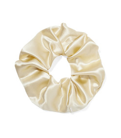 elegant silk-satin hair tie