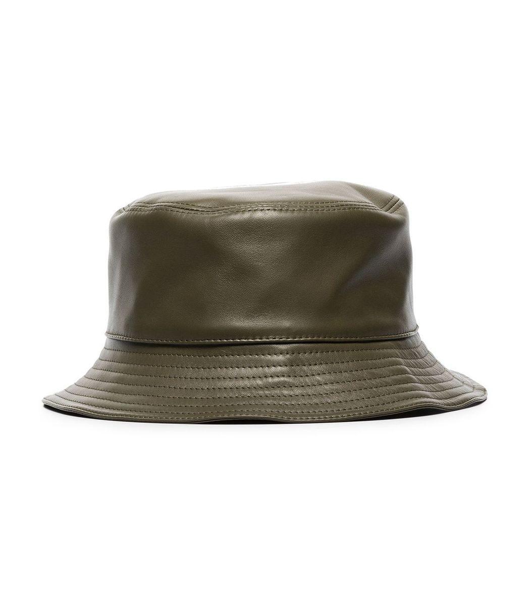 Loewe Leather Bucket Hat