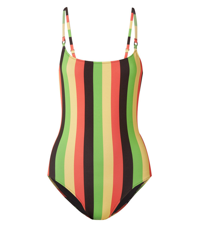 the nina striped swimsuit