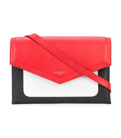 red/black duetto xbody flap bag