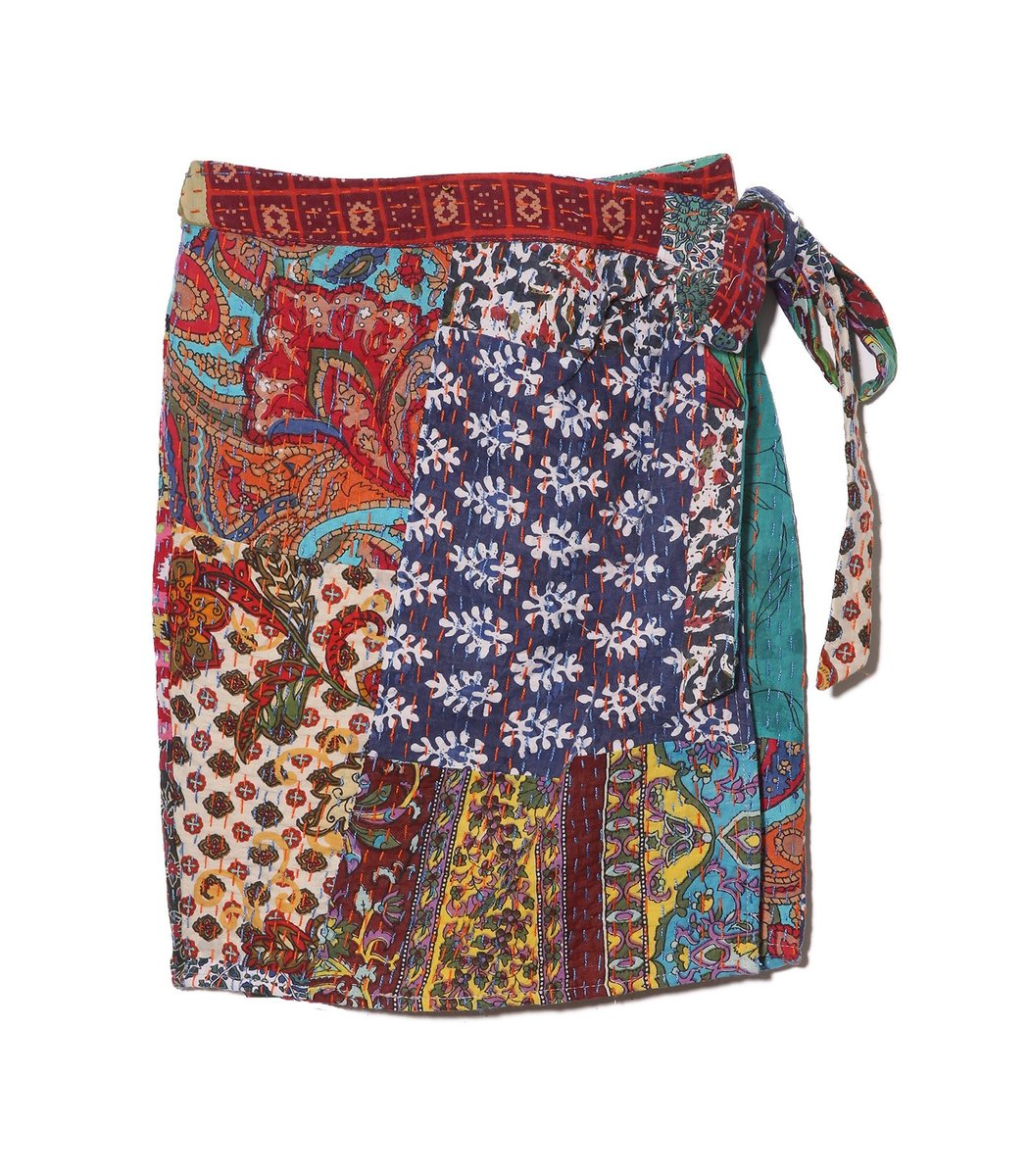 Ciao Lucia Ponza Skirt in Patchwork