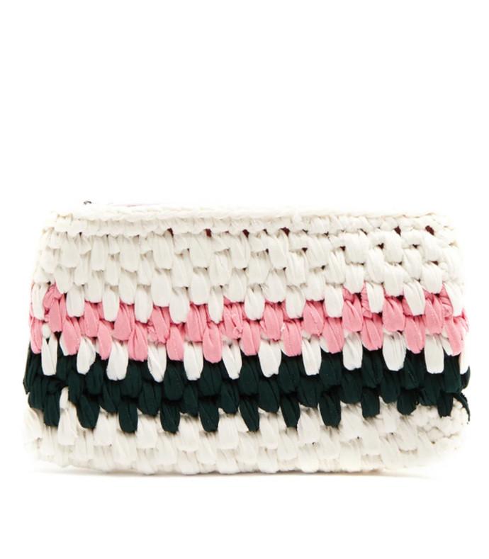 ziggy crocheted clutch