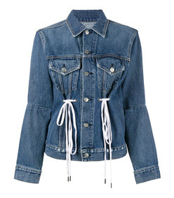pswl denim drawstring jacket