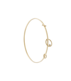 gold orbit bangle
