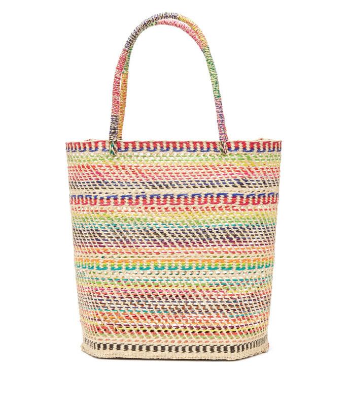 toquilla basket tote bag