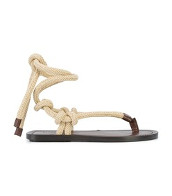 espresso/brown nu pieds sandals