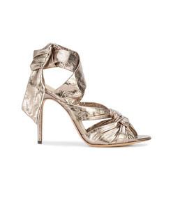 metallic maleah sandals