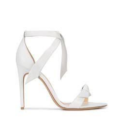 white clarita sandal