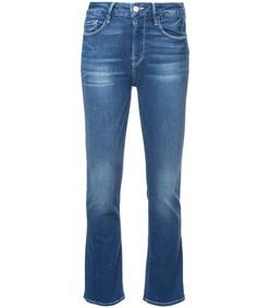 le crop mini bootcut jeans
