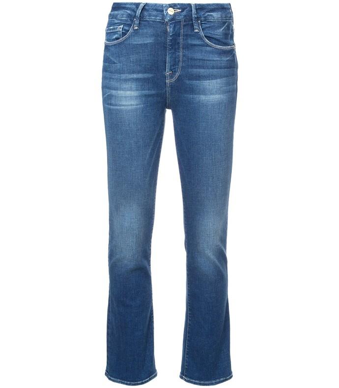 Le Crop Mini Bootcut Jeans FRM37R94-BLU-28
