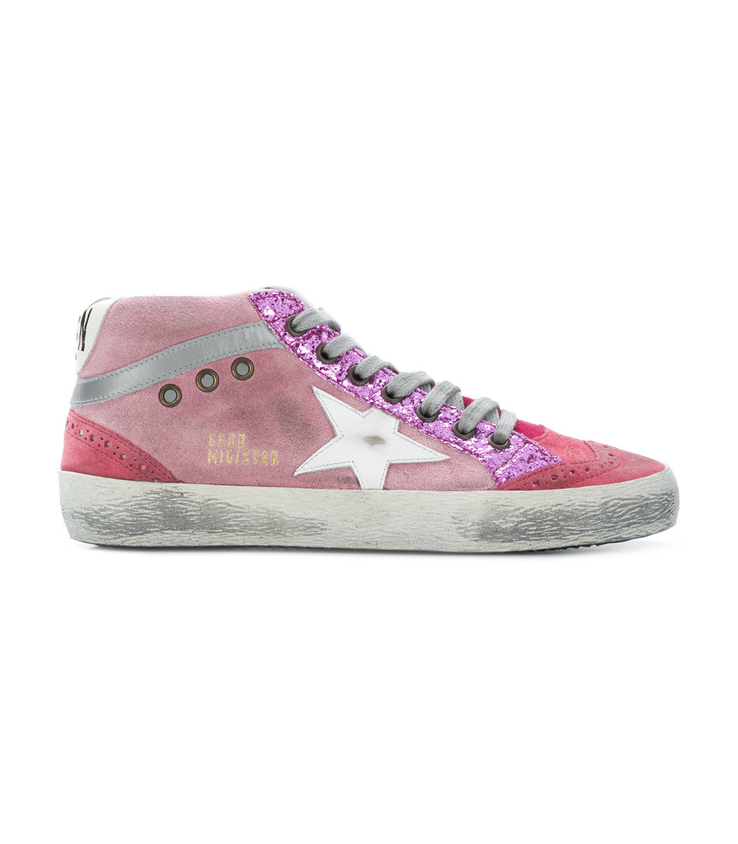 Pink Star Sneakers
