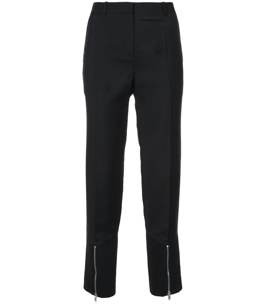 GIVENCHY Black Zipper Pants