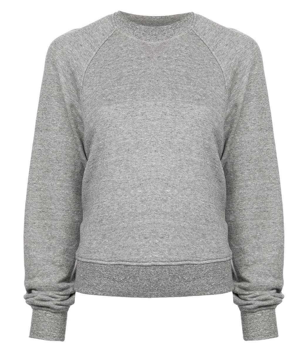Sandy Liang Grey Open Back Sweatshirt