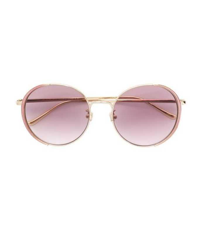 7fbf2016cb042 Gucci. Round Frame Sunglasses