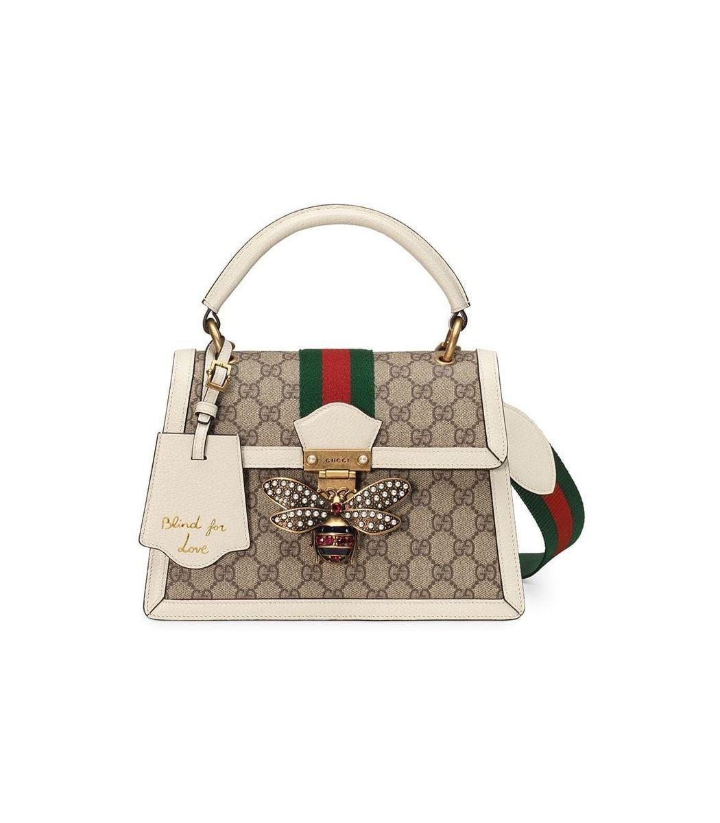 f6065baf8f62 Home / Gucci / Queen Margaret small GG Top Handle Bag. prev