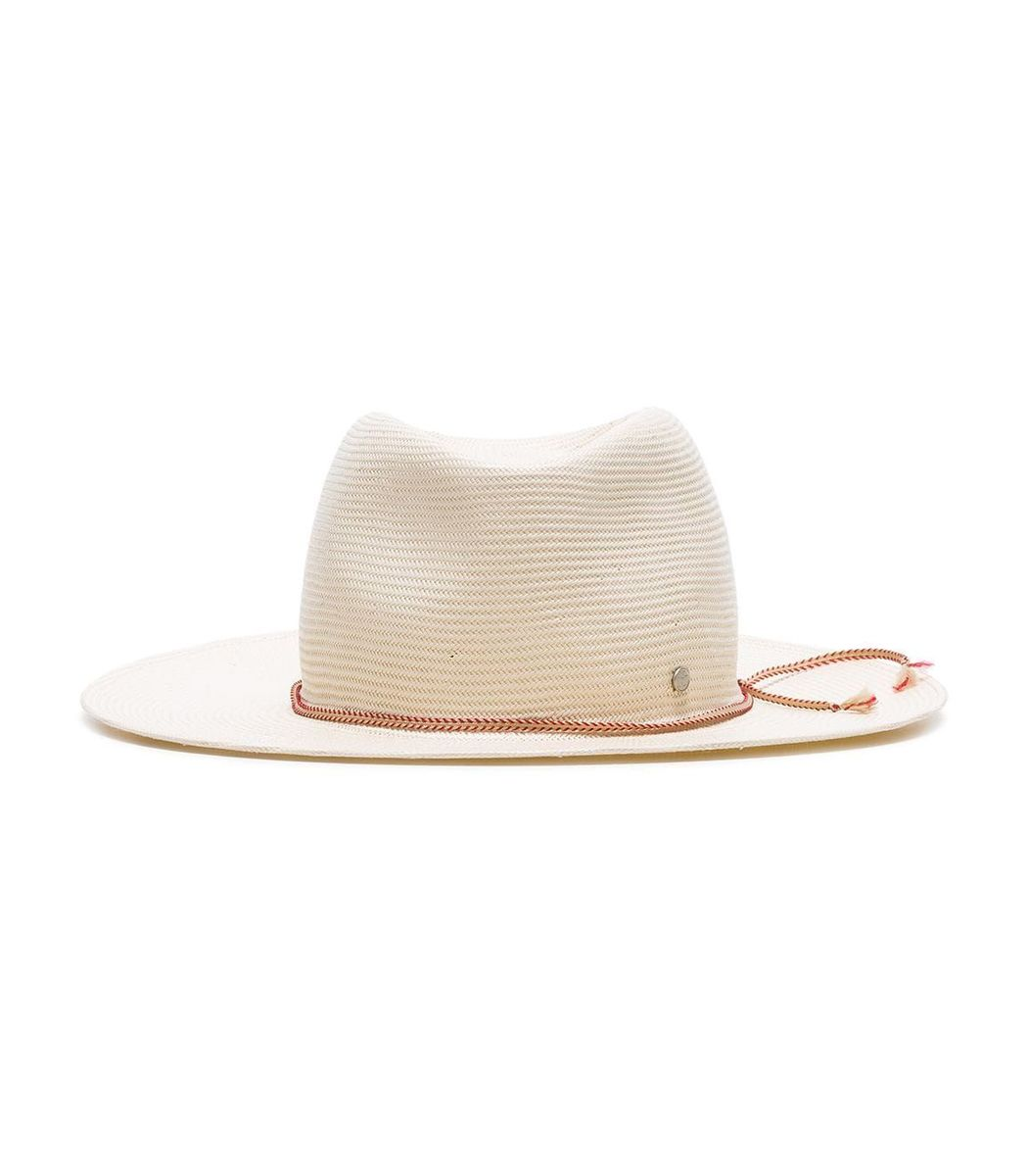 8033e19ba1f39 Maison Michel Charles Roll-Able Paper Straw Fedora Hat  595