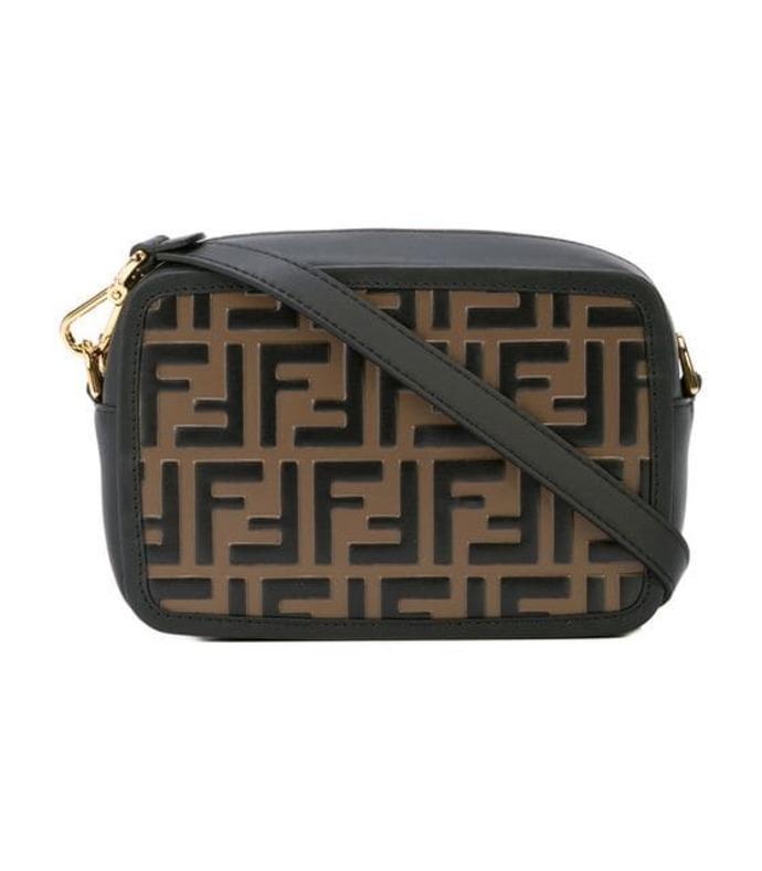brown ff mini bag