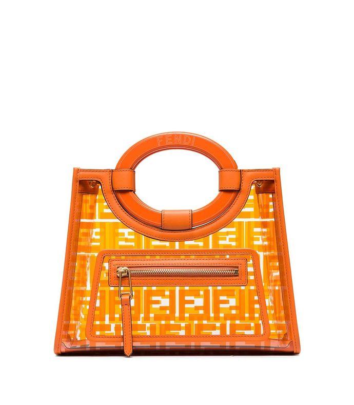 runway small ff logo handbag