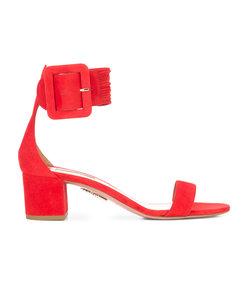 red casablanca sandals
