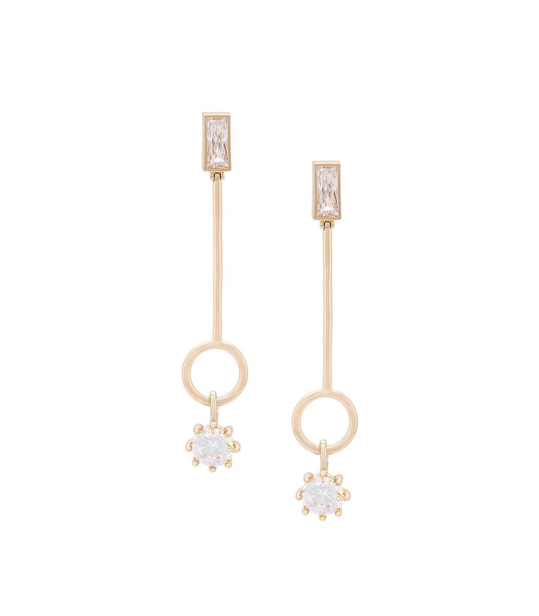 Eddie Borgo Baguette earrings McAbm