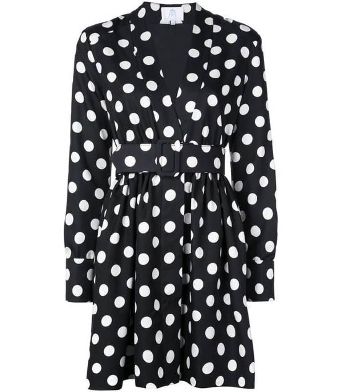 field mini polka dot dress