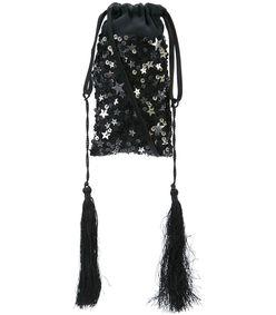 stars all over mini pouch