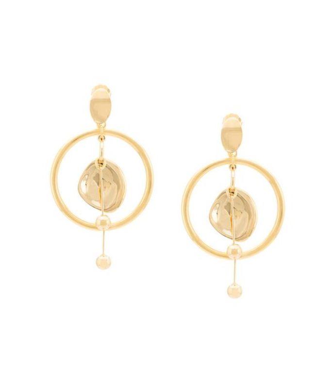 rising hoop earrings