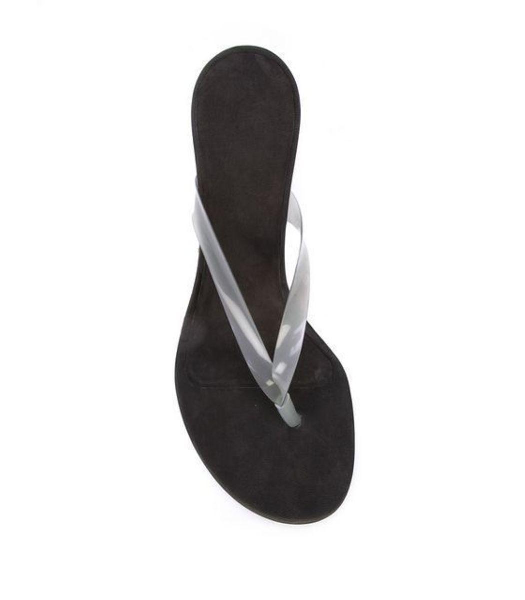 67722dd50 YEEZY PVC Wedge Thong Sandal - ShopBAZAAR