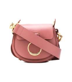 dusty pink tess shoulder bag