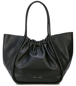 ruched xl tote