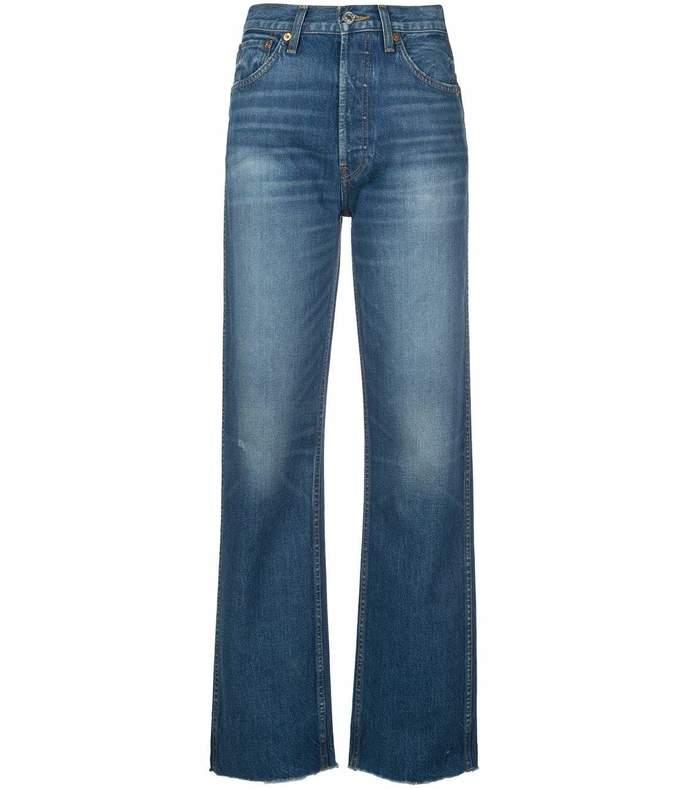 originals loose raw hem jeans