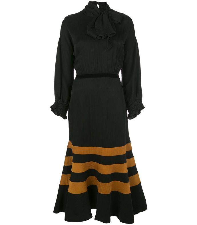 byzantine midi dress