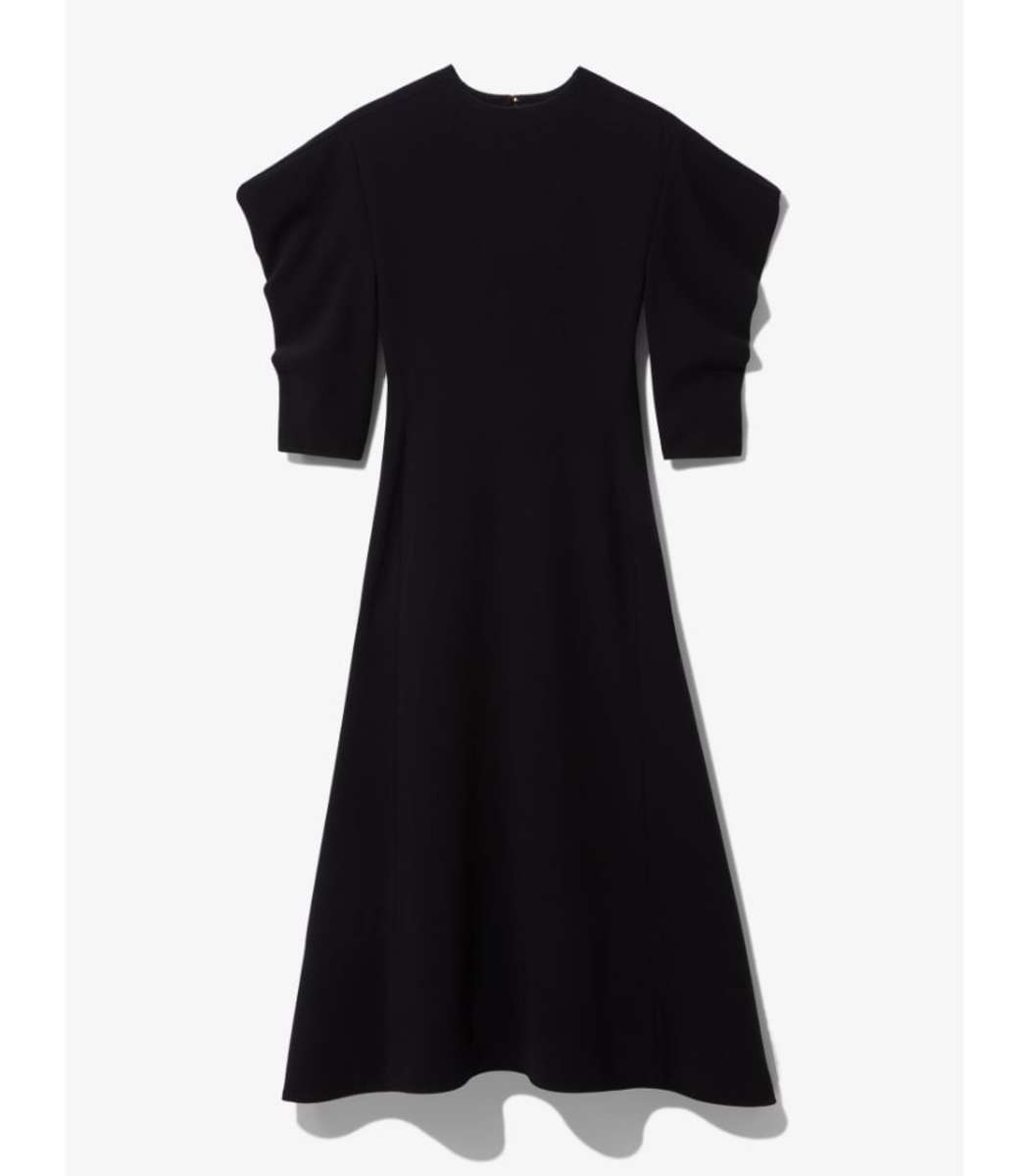Proenza Schouler Draped Sleeve Dress