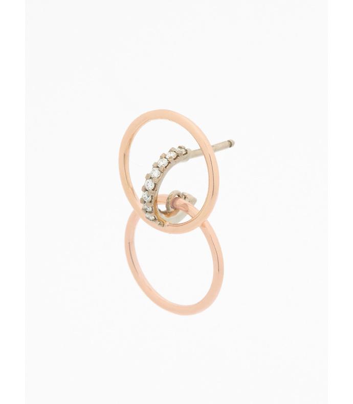 gold galilea earrings