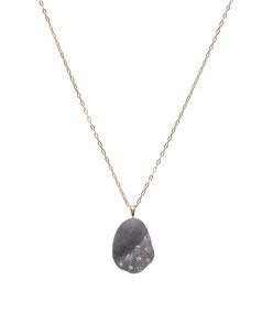 grey ooak' short necklace
